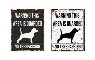 D&D Warning Sign Beagle