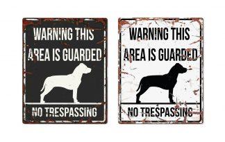 D&D Warning Sign Stafford