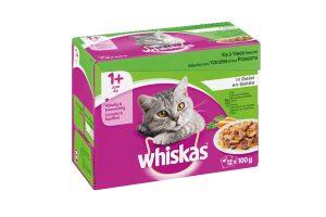 Whiskas Multipack vlees & vis selectie in gelei