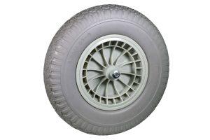 Reserve softwiel grijs met PVC velg