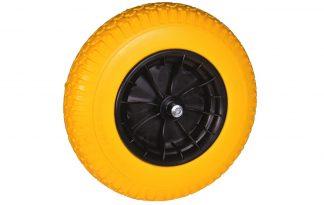 Reserve softwiel geel met PVC velg