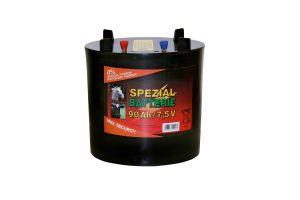 Zink-koolstof batterij rond 7,5 V