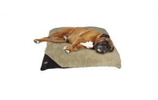 AFP Lambswool Classic Pillow Bed bruin