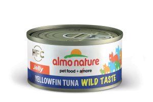 Almo Nature HFC Jelly - geelvis tonijn Wild Taste