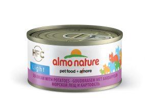Almo Nature HFC Light - zeebrasem met aardappel