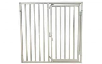 Aluminium kennelpaneel 100x100 cm met deur