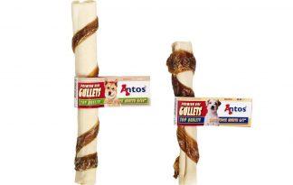 Antos rawhide Roll Stick met Gullets