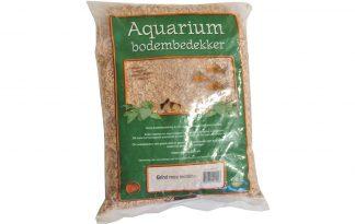 Aquariumgrind bruin/wit