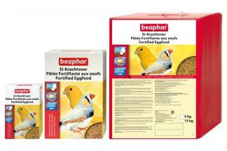 Beaphar Ei-Krachtvoer kanarie & tropische vogel
