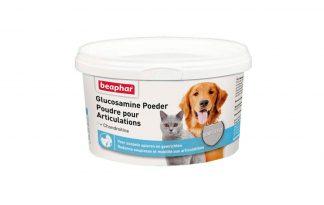 Beaphar Glucosamine Poeder voor soepele spieren en gewrichten bij uw hond of kat.
