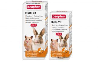 Beaphar Multi-Vit voor konijnen en knaagdieren