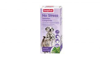 Beaphar No Stress Tabletten vermindert ongewenst gedrag en kalmeert uw hond of kat.