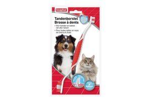 Beaphar Tandenborstel voor honden en katten.