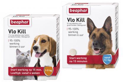 Beaphar VloKill+ voor honden en katten.