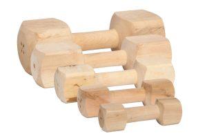 Beeztees Apporteerblok hout