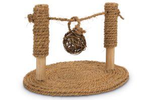 Beeztees Coconut Rope speelbrug knaagdierspeeltje