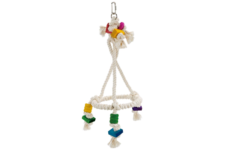 Beeztees katoen vogelspeelgoed Swiggy 56 cm