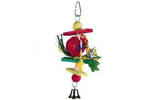Beeztees Trinox houten vogelspeeltjes