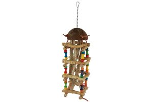 Bird Toy Bamboo Sticks speelhanger