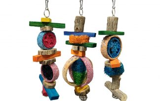BirrdeeezLoofah vogelspeelgoed