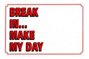Waakbord break in... make my day leeg