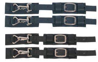 Set borstriemen met snelsluiting Navy of Zwart