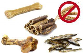 Graanvrije hondenkoekjes en -snacks