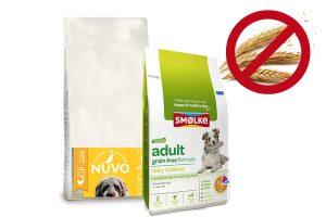 Graanvrije hondenvoeding