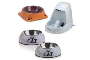 Drink- & voerbakken voor katten