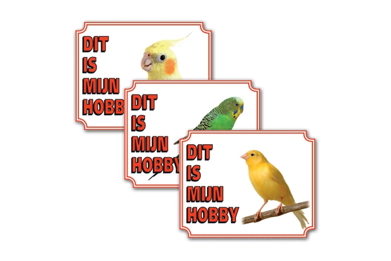 Waakborden voor vogels