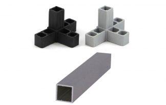 Aluminiumkokers & toebehoren