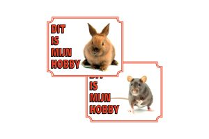 Waakborden voor knaagdieren & konijnen