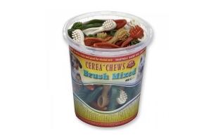 Cerea Chews zijn lekker, gezond, gebitsverzorgend, light(laag vetgehalte), vezelrijk, vegetarisch, geheel verteerbaar, uitgebalanceerd en 100% natuurlijk.