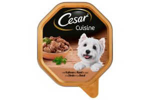 Cesar Cuisine met kalkoen en rundvlees