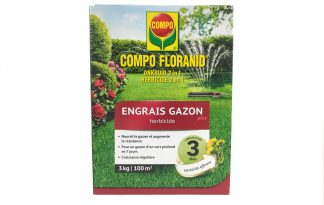 Compo Floranid gazonmeststof plus onkruidbestrijder