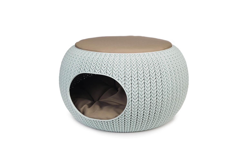 Curver Cozy Pet Home lichtblauw
