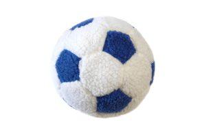Dog Life Berber football pluche blauw