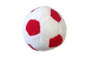 Dog Life Berber football pluche rood