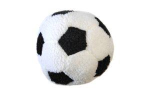 Dog Life Berber football pluche zwart
