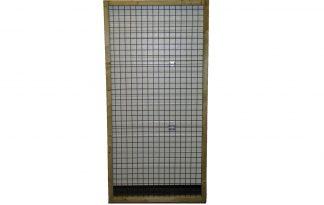 Draadpaneel met frame - zijwand