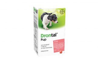 Drontal Pup Suspensie 2,5% tegen wormen bij uw pup.