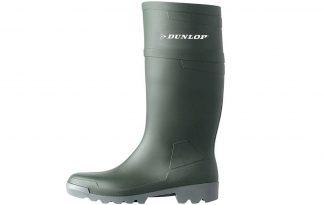 Dunlop pvc regenlaars knie