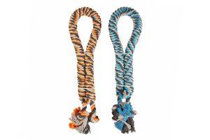 Duvo getwist touw met knopen