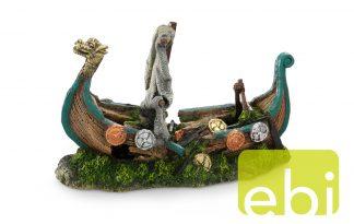 EBI Aqua Della Decor scheepswrak vikingschip