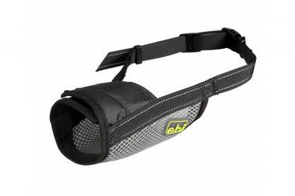 EBI muilband mesh zwart