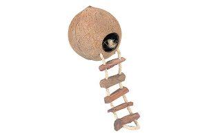 EBI Kokosnoothuisje met ladder en moer