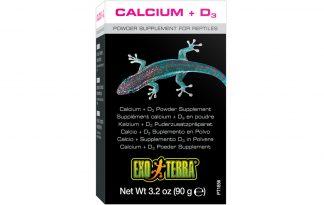 Exo Terra Calcium + D3 Poeder supplement