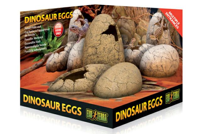 Exo Terra Dinosaur Eggs Fossil Hide-Out