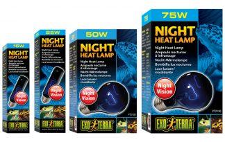Exo Terra Night Heat Lamp maanlichtlamp