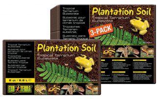Exo Terra Plantation Soil terrarium substraat